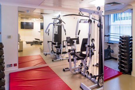Gym at Park City Grand Plaza Kensington Hotel